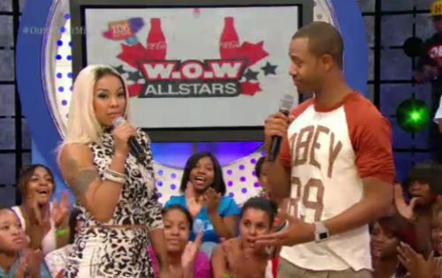 keyshia cole 106 e1343892281525 Keyshia Cole Visits 106 & Park; Talks Return To Sad Music