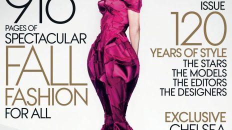 Behind the Scenes:  Lady Gaga's Vivacious 'Vogue' Shoot