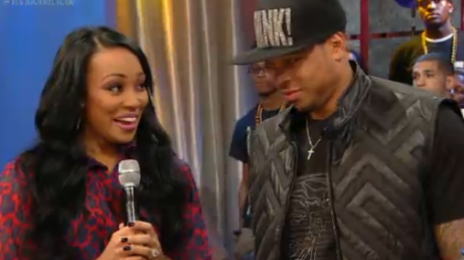 Monica & Shannon Brown Visit '106 & Park'