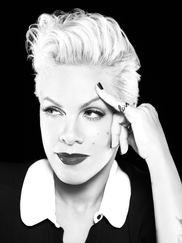 Hot Shots: Pink Stands Tall In New Truth About Love Promo Pics