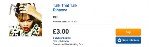 rihanna tt truth e1344851512727 Rihanna Breaks UK Chart Record