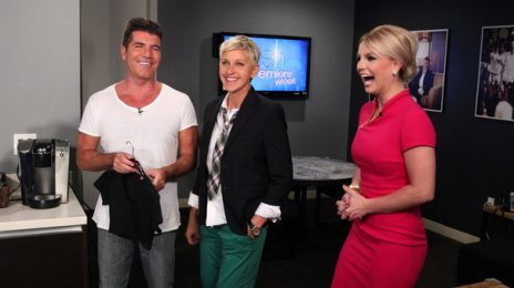 Watch:  Britney Spears & Simon Cowell Catch Up With 'Ellen'