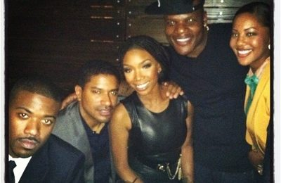 """Hot Shots:  Brandy Toasts To Top 10 Success Of """"Put It Down"""""""