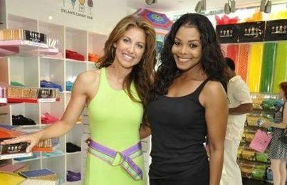 Hot Shots:  Janet Jackson Raises The Bar At L.A. Candy Store