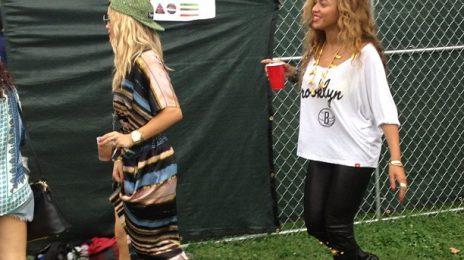 Hot Shot: Beyonce And Rita Ora Enjoy 'Made In America'