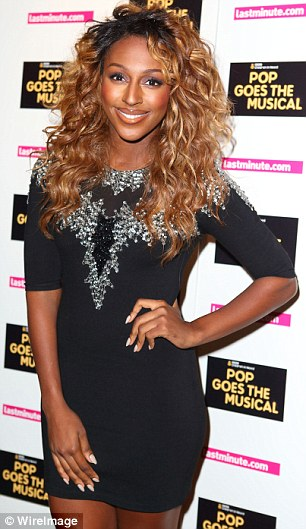 ALEXANDRA BURKE LES MISERABLES Hot Shots: Alexandra Burke Beams For Les Miserables