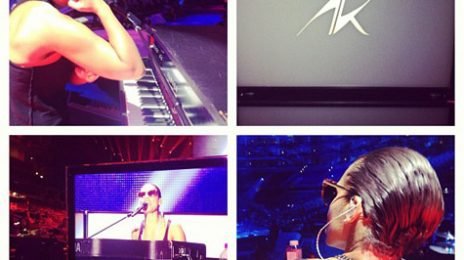'Girl On Fire': Alicia Gears Up For VMA Performance