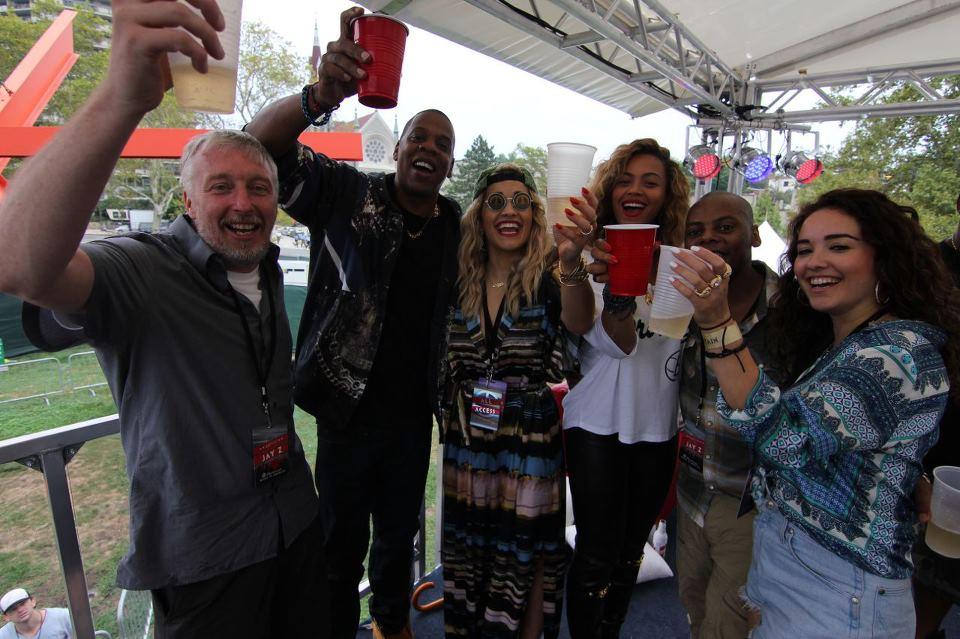 BEYONCE AND JAY Z CELEBRATE RITA ORAS ORA Hot Shot: Beyonce & Jay Z Celebrate Rita Oras #1 Album