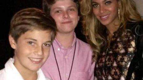 Beyonce Beams At 'Barclays' Grand Opening