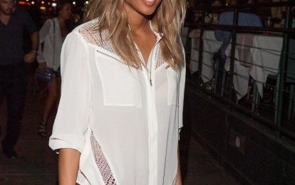 Hot Shots: Ciara Dines At Mr.Chow