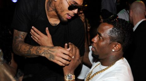 Hot Shots: Chris Brown Gets 'Sexy' With Diddy, Cassie And Draya Michele