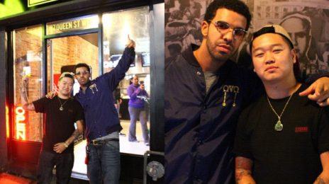 Hot Shots: Drake Opens 'Gangster Burger'