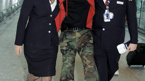 Hot Shots: Jay Z 'Gets Carried Away' At London's Heathrow