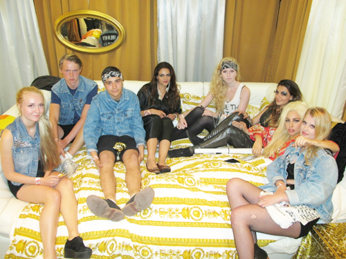 LADY GAGA BACKSTAGE WITH MONSTERS ARTPOP: Lady GaGa Talks New Album With Monsters