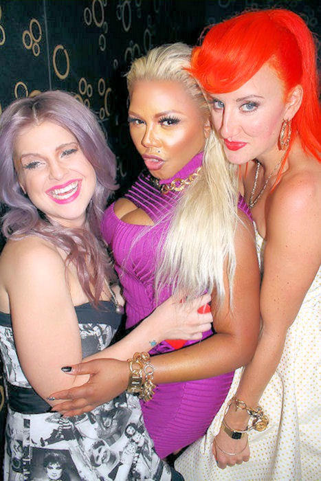 LIL KIM KELLY OSBOURNE BETSEY JOHNSON SHOW NYFW Hot Shots: More From Lil Kims New York Fashion Week