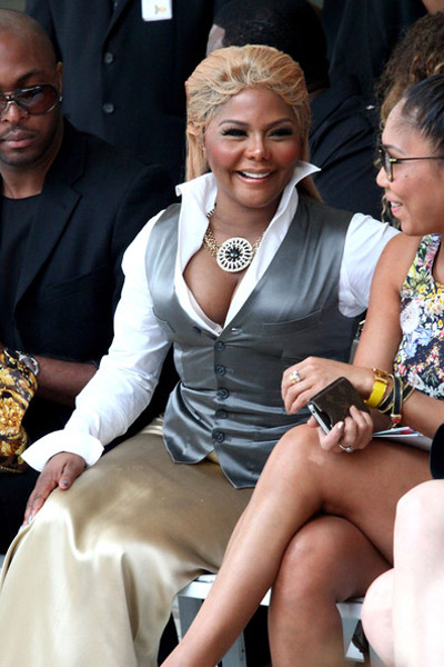 LIL KIM NEW YORK FASHION WEEK Hot Shots: Lil Kim Tries Her Best At New York Fashion Week