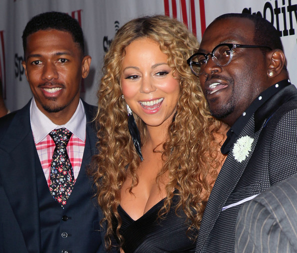 Mariah+Carey+Nick Randy Jackson bmi Triumphant: Mariah Carey Receives BMI Icon Award