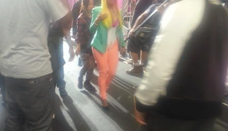 Hot Shots: Nicki Minaj Shoots 'The Boys'