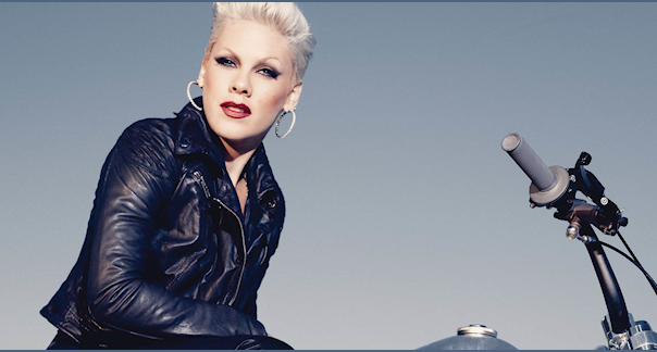 PINK THAT GRAPE JUICE BLOW ME ONE LAST KISS Pink Breaks Australian Touring Record
