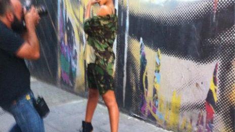 Hot Shot: Rihanna Readying Album Promo?