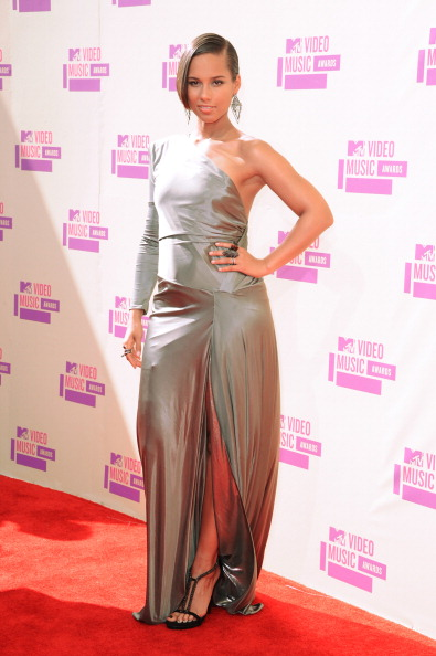 alicia keys vma 2012 2012 MTV VMAs: Red Carpet Arrivals