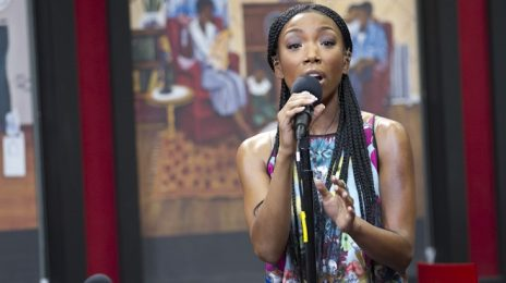 Watch:  Brandy Brings 'Best Friend' & 'Almost Doesn't Count' To 'Tom Joyner Morning Show'