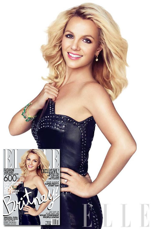 britney spears elle magazine cover Hot Shots: Britney Spears Stuns In Elle