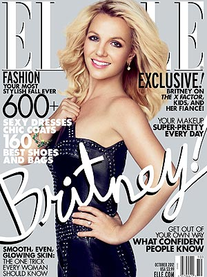 britney spears elle Hot Shots: Britney Spears Stuns In Elle