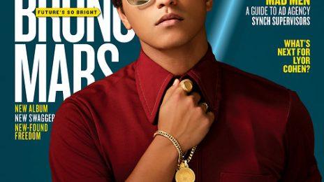 Hot Shot: Bruno Mars' Super Sharp Billboard Cover