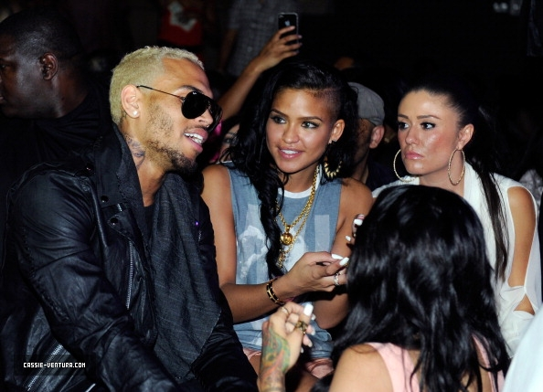 Hot Shots: Chris Brown Gets Sexy With Diddy, Cassie And Draya Michele