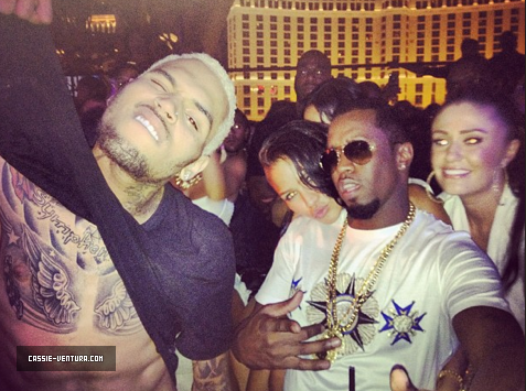 chris brown diddy and cassie sexiest party