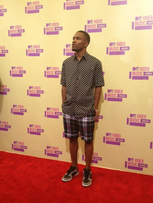frank ocean vma 2012 e1346971736594 2012 MTV VMAs: Red Carpet Arrivals