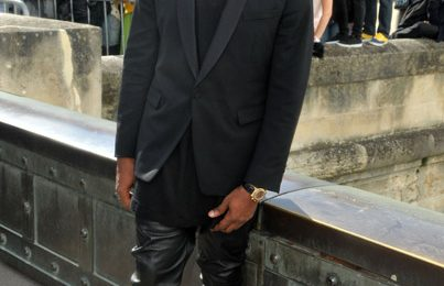 Hot Shots: Kanye West Looks Sharp For 'Christian Dior'