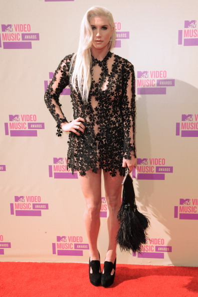kesha vma 2012 2012 MTV VMAs: Red Carpet Arrivals