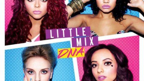 Little Mix Unmask 'DNA' Album Cover