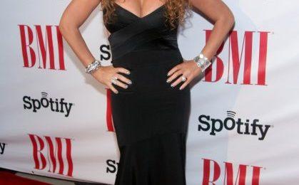 Triumphant: Mariah Carey Receives BMI Icon Award