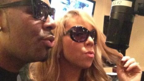 Hot Shot: Mariah Carey Hits Studio With R. Kelly