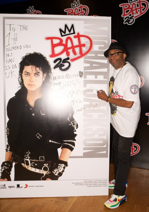 mj bad 25 tgj e1348062832329 Competition: Win Signed Spike Lee / Michael Jackson Bad 25 Poster & Boxset! {Day 2}