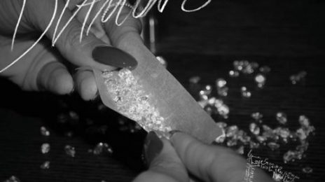 Rihanna Unwraps 'Diamonds' Single Cover & iTunes Release Date