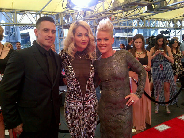 rita ora pink vma 2012 2012 MTV VMAs: Red Carpet Arrivals