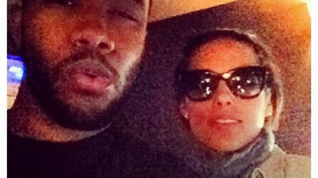 Hot Shot: Frank Ocean Hits The Studio... With Alicia Keys