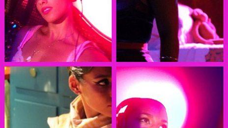 Hot Shots: Alicia Keys Scorches On 'Girl On Fire' Set