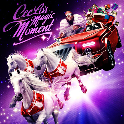 CEE LO GREEN MAGIC MOMENT Snippet: Cee Lo Green   Baby Its Cold Outside ( Ft Christina Aguilera)