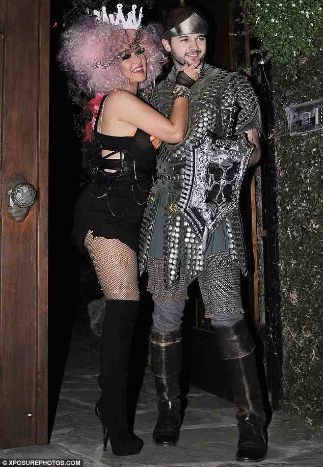 be sure to pick up aguileras - Christina Aguilera Halloween