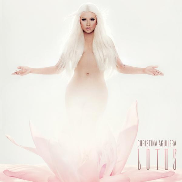 CHRISTINA AGUILERA LOTUS COVER Hot Shot: Christina Aguilera Unveils Lotus Album Cover