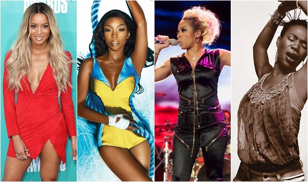 Ciara Brandy Keyshia India Weigh In: Billboard Shake Up R&B Charts / Unveil New Sales Counting Methods