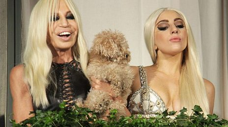 Hot Shots: Lady GaGa & Versace Stun Fans In Italy