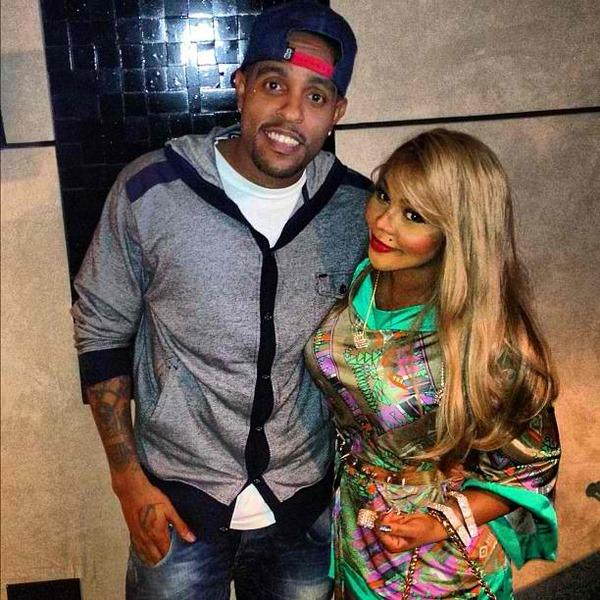 LIL KIM IN STUDIO WITH VERSE SIMMONDS