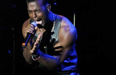 Luke James Performs At Brandy Best Buy Theater Show