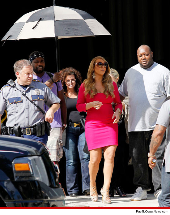 MARIAH CAREY POLICE ESCORT AMERICAN IDOL Hot Shot: Mariah Carey Wastes Police Time In Baton Rouge